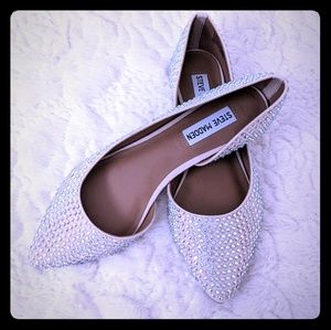 Steve Madden nude rhineston Elsie pumps shoes 8.5